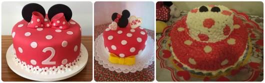 modelos de bolo minnie simples