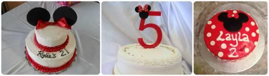 modelos de bolos simples da minnie