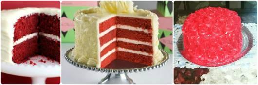 ideias bolo 15 anos vermelho simples