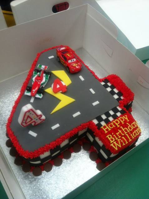 Cake Decorating Ideas For 4 Year Old Boy : 50 BOLO DOS CARROS: Fotos, Modelos e Dicas