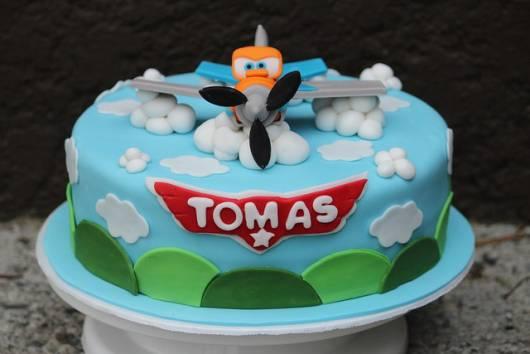 ideia de bolo aviões disney personalizado
