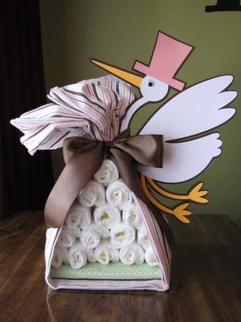 60 bolo de fraldas como fazer modelos e fotos - Como hacer una boda diferente ...