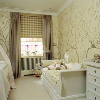 cortina varão quarto de bebê