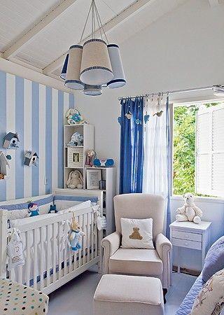 ideia de cortina para quarto de bebê