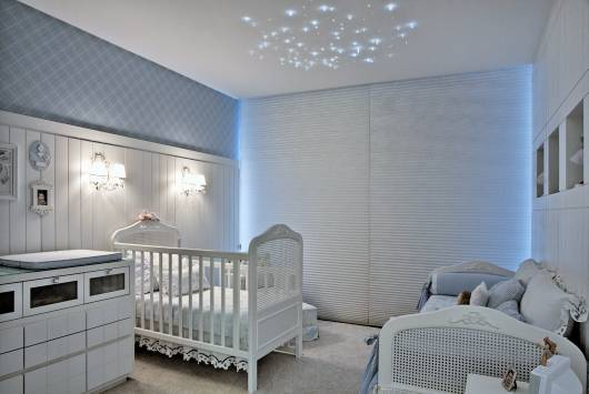cortina veneziana quarto de bebê