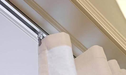 cortina de trilho