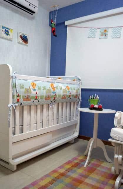 cortina rolo para quarto de bebê