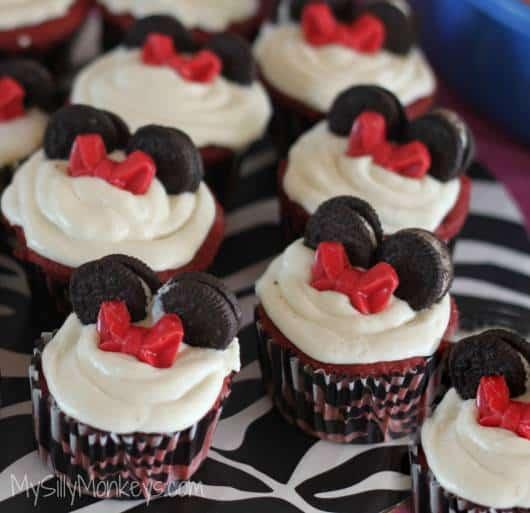 cupcake festa minnie