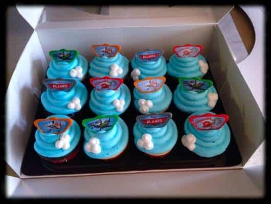 lindos cupcakes decorados com ganashe