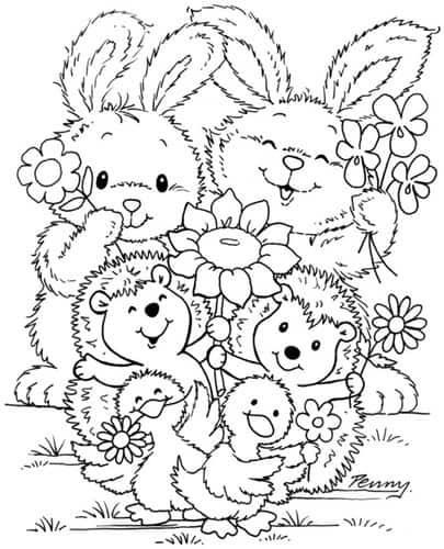 desenho de animal para crianças