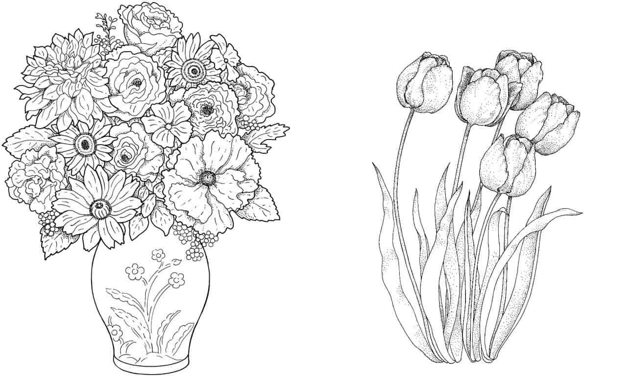 imprimir desenho flores