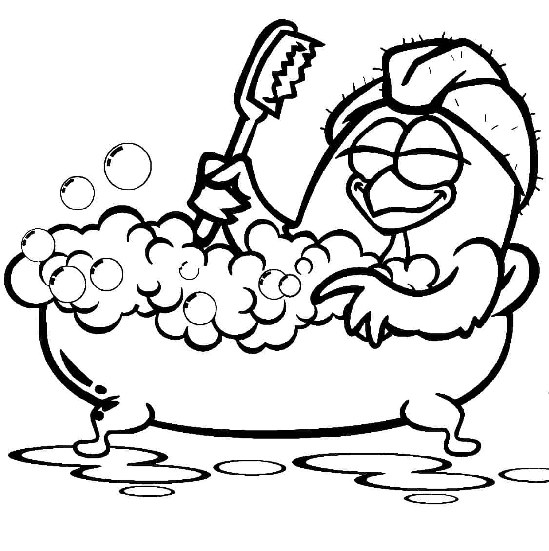 banho galinha pintadinha desenho