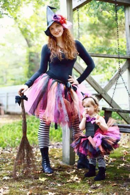 fantasia bruxa igual mãe e filha