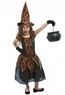 fantasia bruxa infantil simples