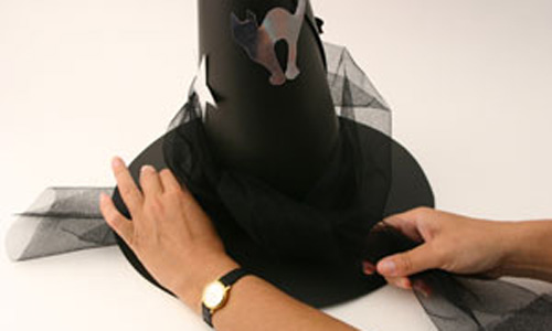 chapéu de bruxa fantasia infantil