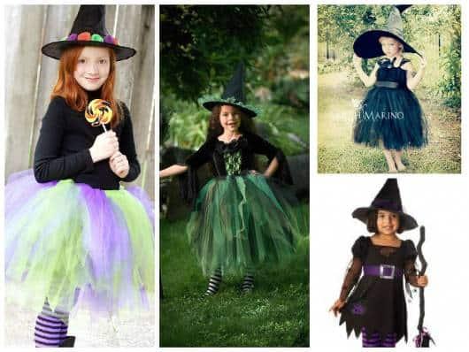 Resultado de imagem para fantasias fofas de bruxa para crianças