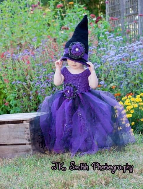fantasia bruxa infantil diferente