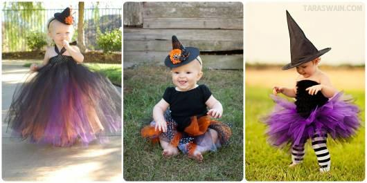 fantasia de bruxa infantil como fazer e fotos