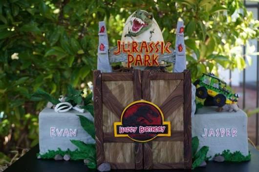festa 10 anos dinossauros