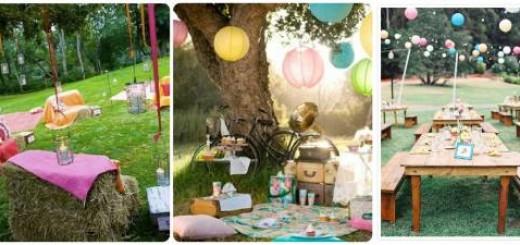 ideias festa 16 anos tema picnic