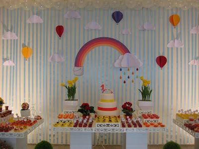 festa arco-iris provençal