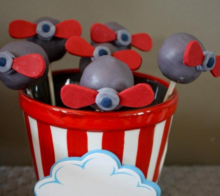 dicas de doces para festa aviões disney
