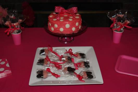 festa da minnie infantil clean
