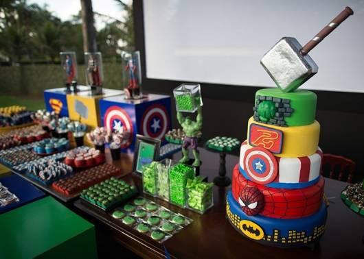 festa de aniversario vingadores
