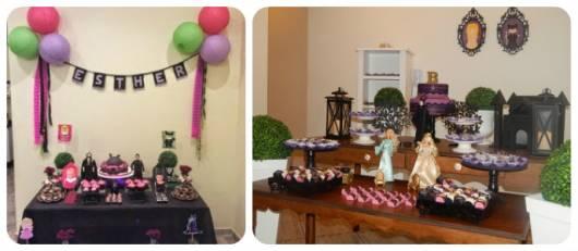 ideias para decorar festa malévola