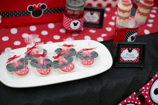 festa minnie chocolates