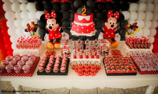 festa minnie da infantil provencal