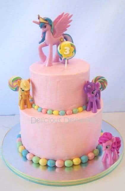 ideia de bolo  my little pony