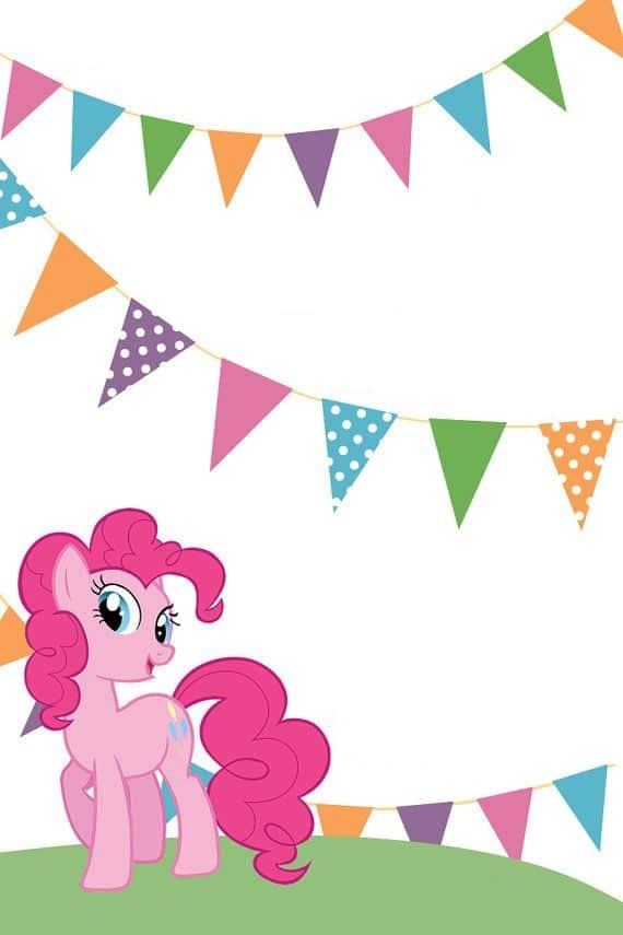 convite grátis  my little pony