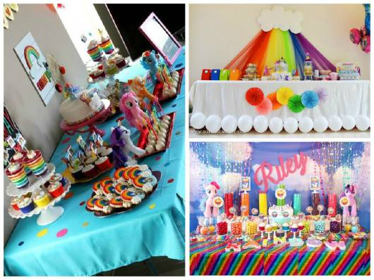 ideias festa  my little pony