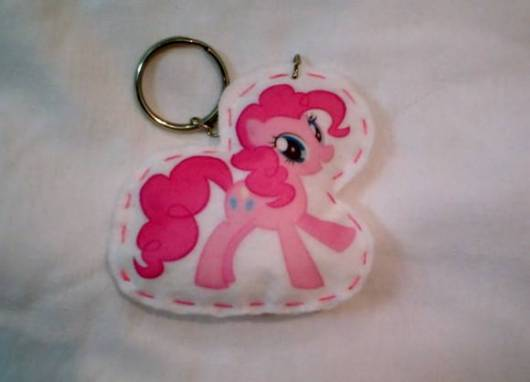 chaveiro de lembrancinha  my little pony
