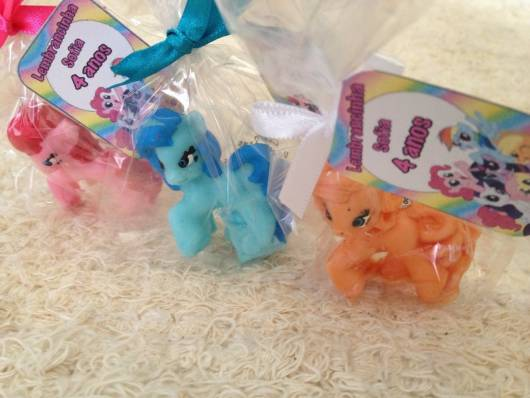 sabonete de lembrancinha  my little pony