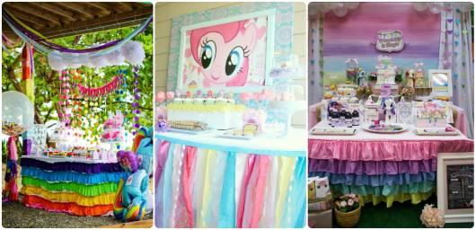 ideias para decorar festa  my little pony