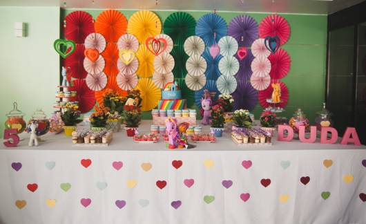 festa simples  my little pony