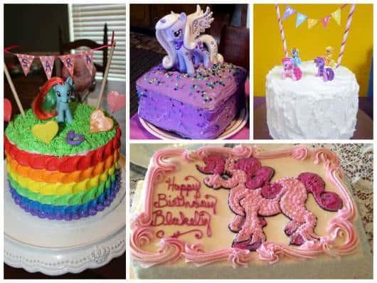 modelos de bolos decorados  my little pony