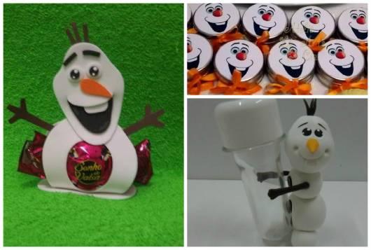 ideias de lembrancinhas do Olaf