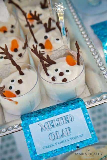 ideia festa do Olaf