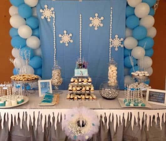 festa em casa do Olaf