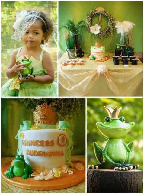 dica de decoração para festa da princesa e o sapo