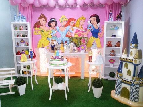 festa princesas provençal simples