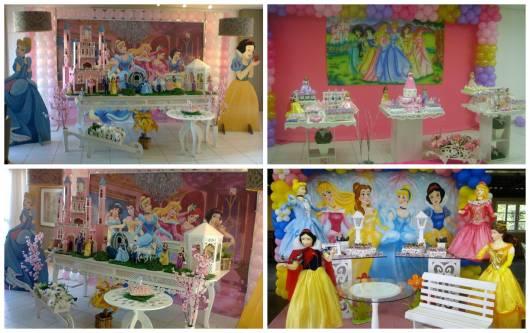como festa princesas disney provençal