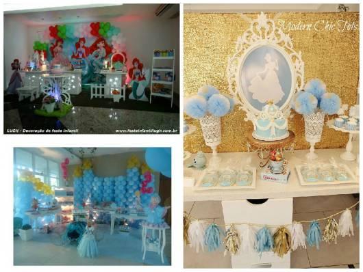 decoração festa princesas provençal
