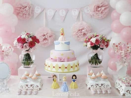 festa princesas provençal para bebê