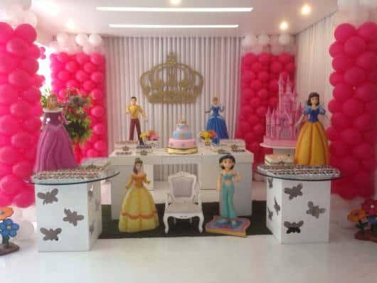 festa princesas provençal pink