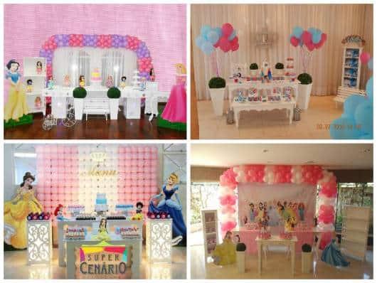 ideias para decorar festa princesas provençal