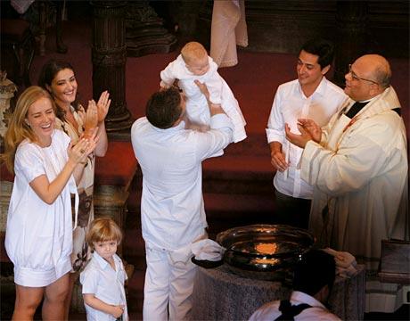 fotos batizado de angelica